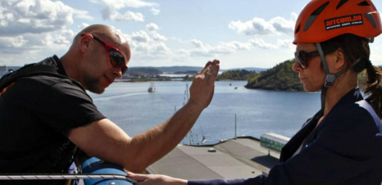 Rappelering Oslo, fra Holmenkollen