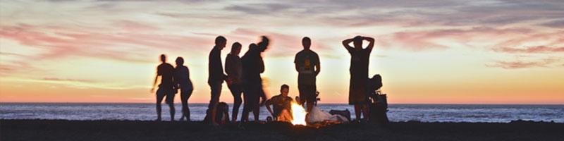 Sommerfest på en øy