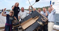 bygg deres egen pappbåt - Passer bra som teambuilding på sommerfest