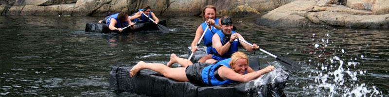 Pappbåtregatta - perfekt til sommerfesten
