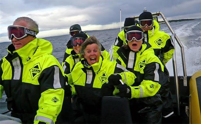 Rebus på sjøen - fart og spenning for bedriften